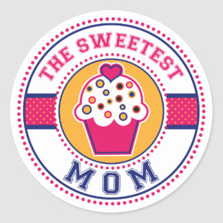 The Sweetest Mom Sticker