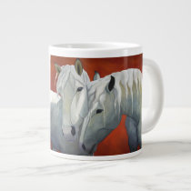 The Sweetest Thing horse art coffee mug by LAWebb