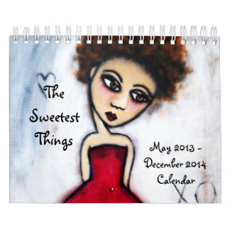 The Sweetest Things 20-Month Calendar