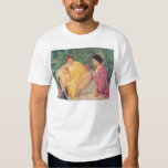 The Swim or Two Mothers & Their Children on a Tee Shirts