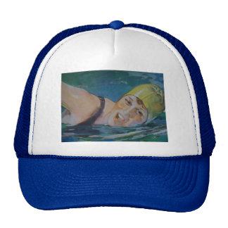 The Swimmer Trucker Hat