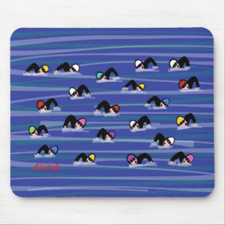 The Swimmers Mouse Pad
