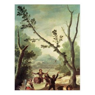 The Swing, 1787 Postcard