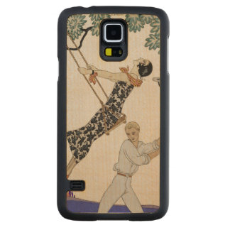 The Swing, 1920s Carved® Maple Galaxy S5 Slim Case