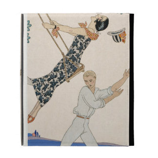 The Swing, 1923 (pochoir print) iPad Folio Cases