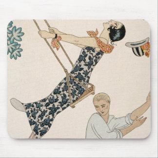 The Swing, 1923 (pochoir print) Mouse Pad