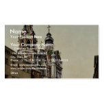 The swing bridge and Madeleine church, Besan&ccedi Double-Sided Standard Business Cards (Pack Of 100)