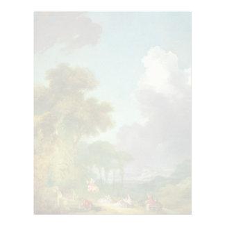 The Swing by Jean-Honore Fragonard Letterhead