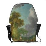 The Swing by Jean-Honore Fragonard Messenger Bag