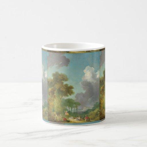 The Swing by Jean-Honore Fragonard Classic White Coffee Mug