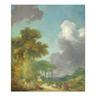 The Swing by Jean-Honore Fragonard Photo Print