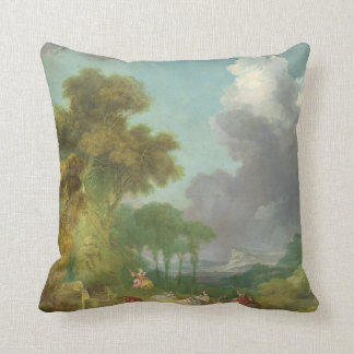 The Swing by Jean-Honore Fragonard Throw Pillow