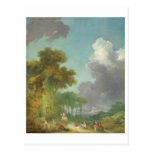 The Swing by Jean-Honore Fragonard Post Cards