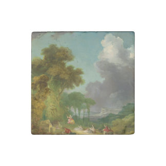 The Swing by Jean-Honore Fragonard Stone Magnet