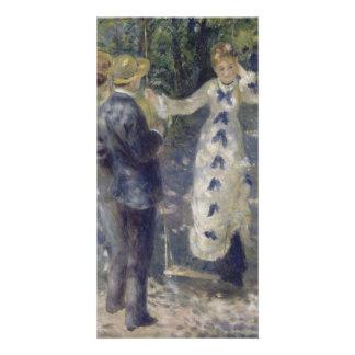 The Swing by Pierre-Auguste Renoir Card