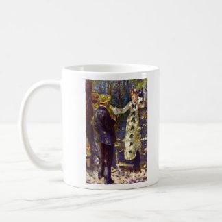 The Swing by Pierre Renoir Coffee Mug