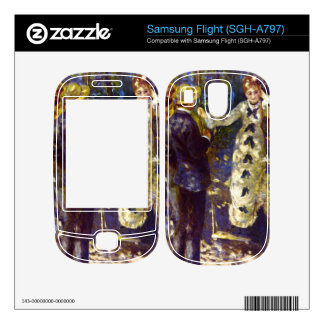 The Swing by Pierre Renoir Decals For Samsung Flight