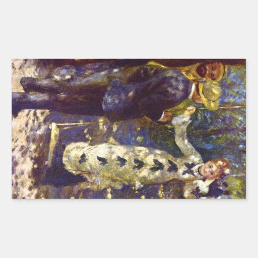 The Swing by Pierre Renoir Sticker