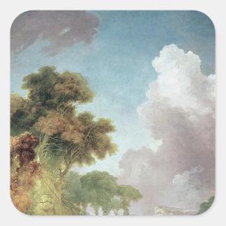 The Swing, c.1765 Square Sticker