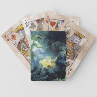 THE SWING ,green yellow blue Bicycle Playing Cards