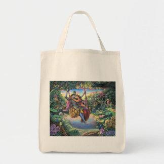 The Swing Pastime - Radha and Krishna Tote Bag