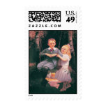 The Swing, Philip Richard P.R. Morris 1833-1902 Postage Stamp