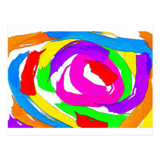 The Swirl Postcard