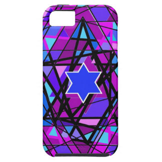 The swirling Star of David. iPhone 5 Case