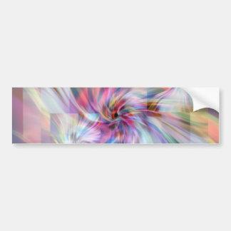 The swirls. bumper sticker
