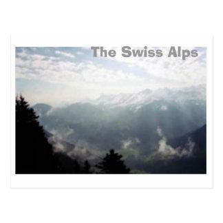 The Swiss Alps Postcards