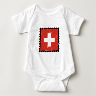 The Swiss Confederation Baby Bodysuit