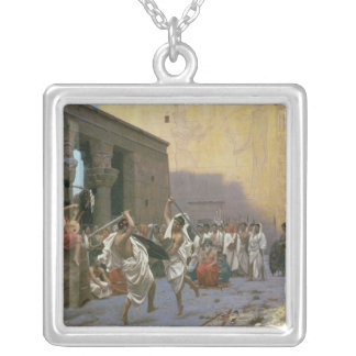The Sword Dance Silver Plated Necklace