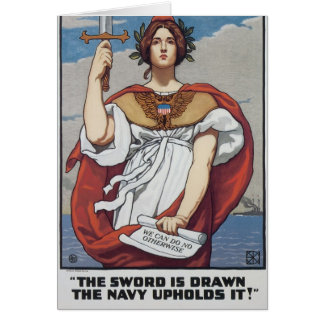 The Sword is Drawn, The Navy Upholds It Card