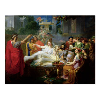 The Sword of Damocles Postcard