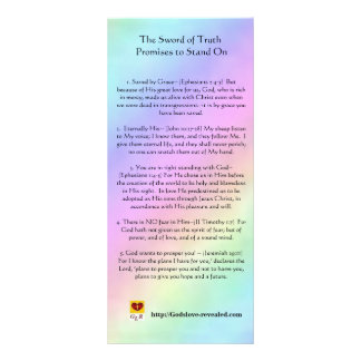 The Sword of Truth Rack Card