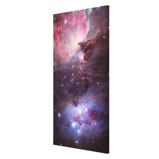 The Sword region of the constellation Orion, The H Canvas Print