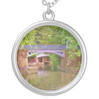The Sydney Garden Bridges Silver Plated Necklace