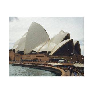 The Sydney Opera House. Canvas Print