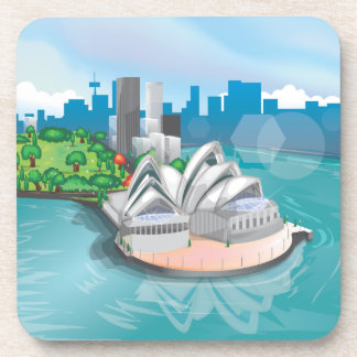 The Sydney Opera House Drink Coaster