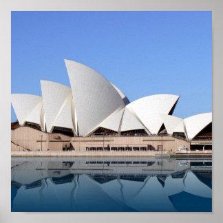 The Sydney Opera House i Poster