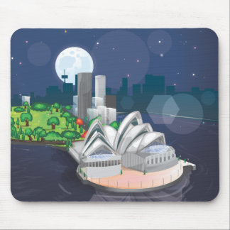 The Sydney Opera House Mouse Pad