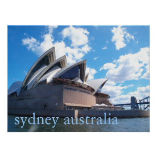 The Sydney Opera House Poster