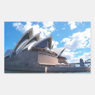 The Sydney Opera House Rectangular Sticker