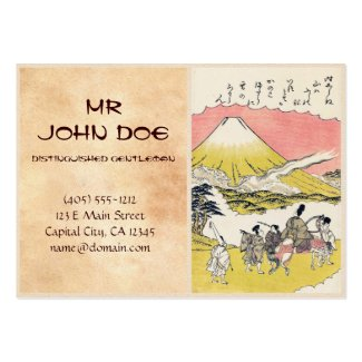 Cool oriental, japanese, vintage and fine art Business Card ...