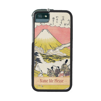 The Syllable He  Passing Mount Fuji japanese art iPhone 5/5S Case