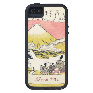 The Syllable He  Passing Mount Fuji japanese art iPhone 5 Covers