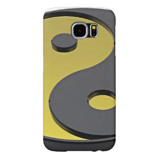 The Symbol Of Harmony-Gold Yin-Yang Samsung Galaxy S6 Cases