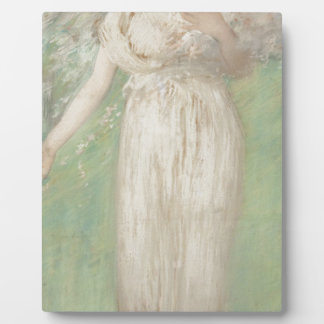 The Symbol of Spring by Edmund Charles Tarbell Plaque