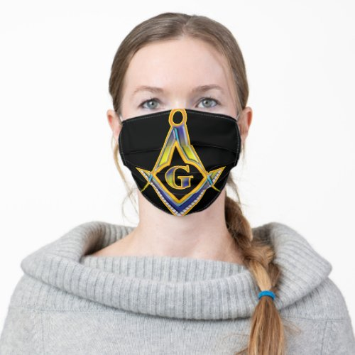 The symbol of the Freemason Cloth Face Mask