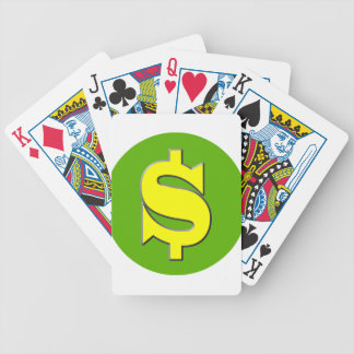 The Symbol of Wealth Bicycle Playing Cards